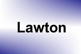 Lawton name image