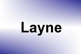 Layne name image
