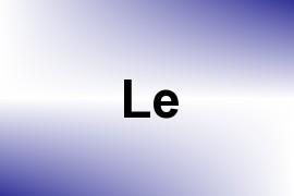 Le name image