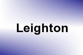 Leighton name image