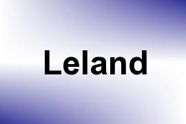 Leland name image