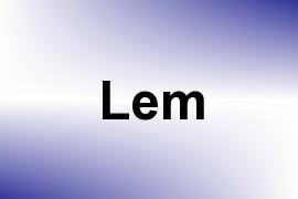 Lem name image