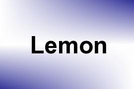 Lemon name image