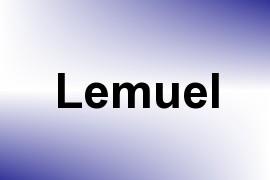 Lemuel name image