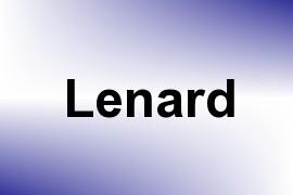 Lenard name image