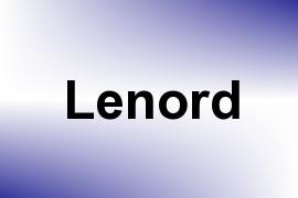 Lenord name image