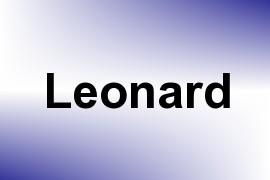 Leonard name image