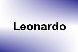 Leonardo name image
