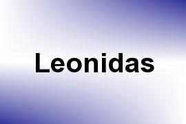 Leonidas name image
