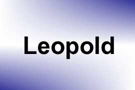 Leopold name image