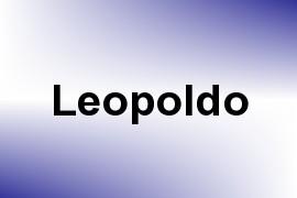Leopoldo name image