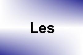 Les name image