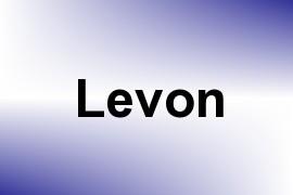 Levon name image