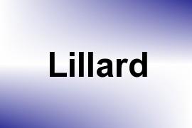 Lillard name image