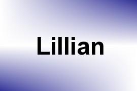 Lillian name image