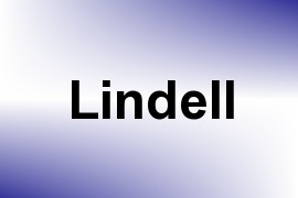 Lindell name image