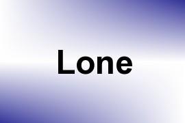 Lone name image