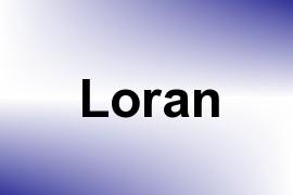 Loran name image