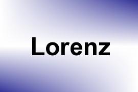 Lorenz name image