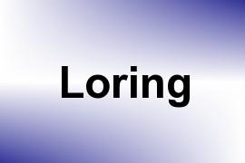 Loring name image