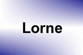 Lorne name image