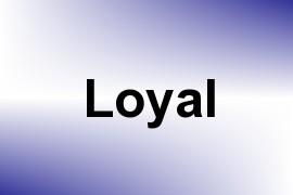 Loyal name image