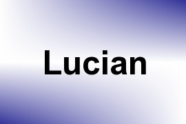 Lucian name image