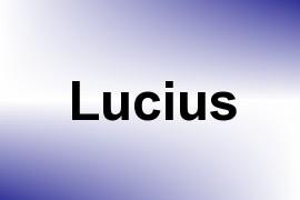 Lucius name image