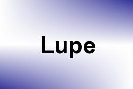 Lupe name image