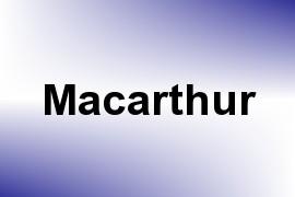 Macarthur name image