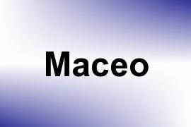 Maceo name image