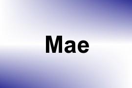 Mae name image