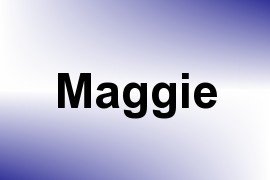 Maggie name image