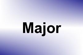 Major name image