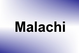 Malachi name image