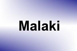Malaki name image