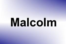 Malcolm name image