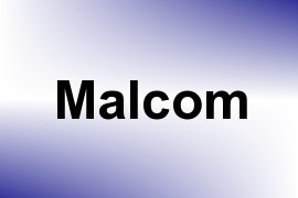 Malcom name image