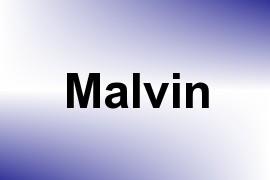 Malvin name image