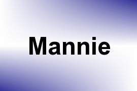 Mannie name image