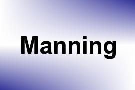 Manning name image