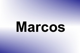 Marcos name image