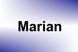 Marian name image