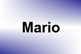 Mario name image