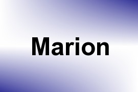 Marion name image