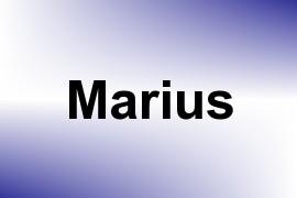 Marius name image