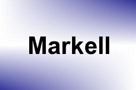 Markell name image