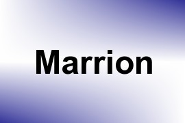 Marrion name image