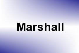 Marshall name image