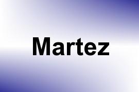 Martez name image
